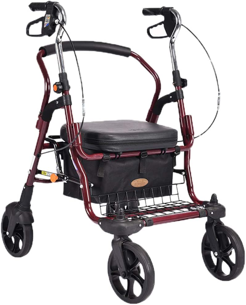 Handiy Old Man Shopping Cart Trolle Elderly Max 80% OFF Walker Four-Wheeled NEW before selling