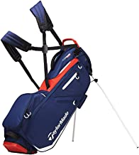 TaylorMade 2019 Flextech Stand Golf Bag, Navy/White/Red (Renewed)