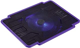 Laptop Cooling Pad 14 Inch Notebook Cooler Radiator Laptop Stand USB Cooling Pad w 1 Fan Slim Portable