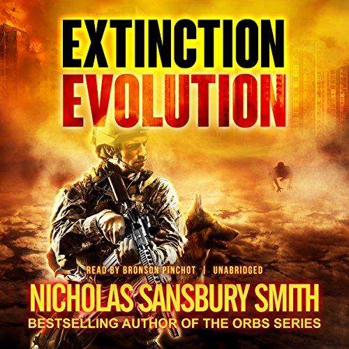 Extinction Evolution     The Extinction Cycle, Book 4              By:                                                                                                                                 Nicholas Sansbury Smith                               Narrated by:                                                                                                                                 Bronson Pinchot                      Length: 10 hrs and 17 mins     1,136 ratings     Overall 4.7