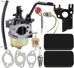 Hayskill GX120 GX160 Carburetor with Air Filter Tune Up Kit for Honda GX 120 GX 160 GX200 168F 5.5HP 6.5HP 163cc 196cc Engine Generator Carb Replace 16211-ZE1-000 XP3500 XP4400