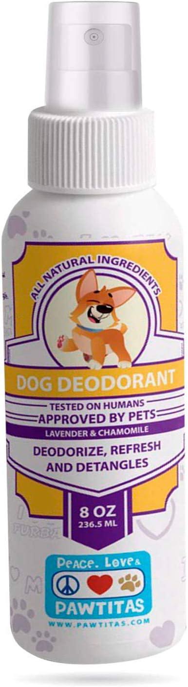 Pawtitas 4 years warranty San Jose Mall Dog Deodorant Spray a Fresh with Long F Lasting Perfume