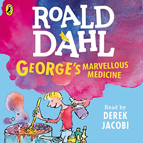 George's Marvellous Medicine audiobook cover art