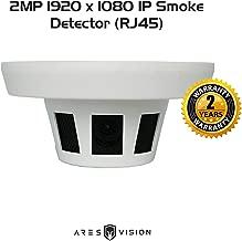 Ares Vision 2MP IP POE Network Hidden Covert Smoke Detector CCTV Camera (RJ45) (2MP IP)