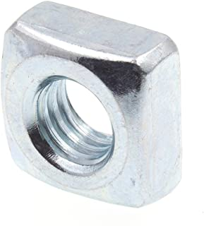 3//8-16 Square Nuts 1400 pcs Steel Zinc Plated