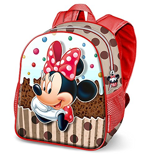 KARACTERMANIA Minnie Mouse Muffin-Nursery Backpack Zainetto per bambini, 30 cm, 7 liters, Marrone (Brown)
