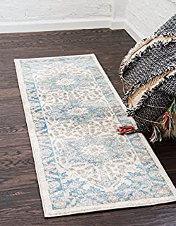 Unique Loom Salzburg Collection Traditional Oriental Cream Runner Rug (2' 7 x 10' 0) (B00XD0GYLI) | Amazon price tracker / tracking, Amazon price history charts, Amazon price watches, Amazon price drop alerts