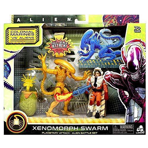 Alien Collection Xenomorph Swarm - Colonial Marines VS Aliens - Xenomorph Drohne - Planetary Attack Alien Battle Set