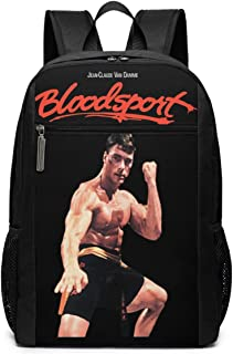 JosephineGrimes Bloodsport Van Damme Lightweight Durable Backpacks for Boys Planet Printed Dayback Cool Back Pack Outdoor ...