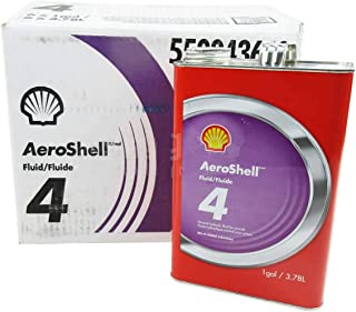 AeroShell Fluid 4 Mineral Hydraulic Oil - Gallon Can