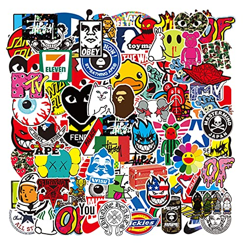 Cool Stickers for Adults Teens Stickers Decals 101 Pack for Skateboard...