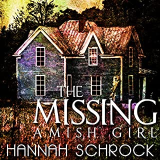 The Missing Amish Girl audiobook cover art