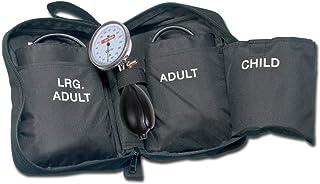 Medidor de presión a aneroide Tensiómetro de 3 pulseras pediátrico adulti--large