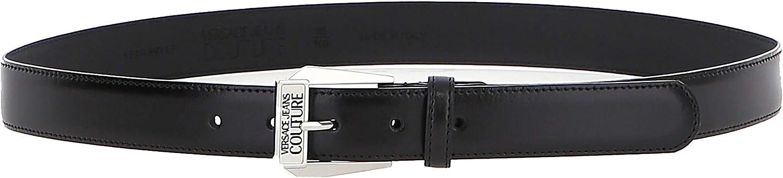 Versace Jeans Couture D8 YWAF03 71627 - Cinturones para hombre, color negro 95