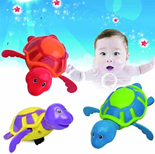 Wind-up Turtle Swimming Pool Bath Time Animal Clockwork Floating Kid Baby Toy