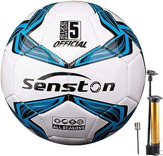 Senston Balones de Futbol Competición Training Balón Maravilloso Lustroso Balones de Fútbol de Entrenamiento Tamaño 4/ Tamaño 5