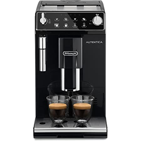 De'Longhi ETAM29.510.B Autentica Macchina da caffè Automatica, 1100 W, 1.4 Litri, 220 Decibel, plastica, Nero
