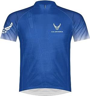 Primal Wear U.S. Air Force USAF Cycling Jersey Men's Short Sleeve