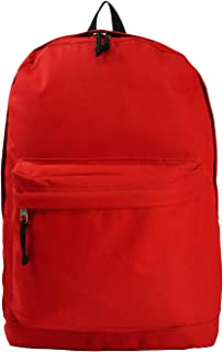 Classic Bookbag Basic Backpack School Bookbag Student Simple Emergency Survival Daypack