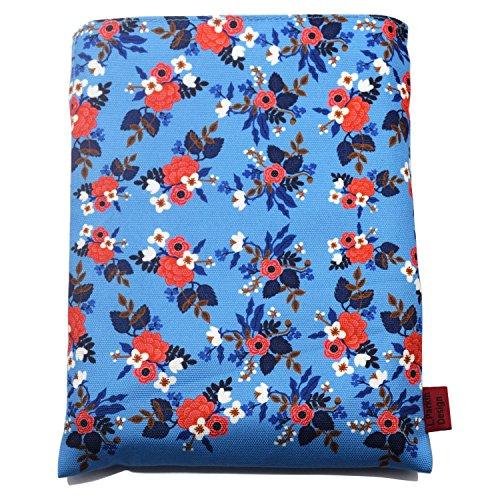 Funda para libro con diseño floral de abedul, tamaño mediano, ideal como regalo para adolescentes.