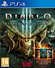The Diablo III: Eternal Collection is an unparalleled action role-playing experience and contains Diablo III, the Reaper of Souls expansion set, and the Necromancer class together in one definitive volume Rise as one of humanity's last defenders -Cru...