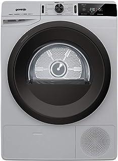Gorenje DE 83 ILA/GI Wärmepumpentrockner/silber/8 kg/A /Knitterschutz/IonRefresh/Inverter Motor/WaveActive Edelstahltrommel