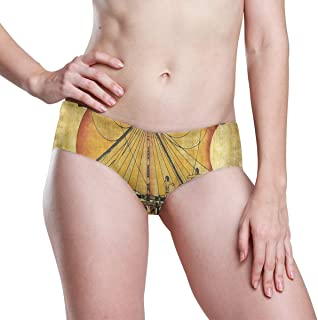 Ancient Egyptian Culture Womens Seamless Underwear Invisible Bikini No Show Thong Panties