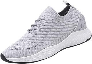 Jodier Zapatos para Correr En Montaña Asfalto Deportes Zapatillas Zapatos de Malla al Aire Libre de Encaje Informal hasta Soles cómodos Zapatillas Deportivas Hombre