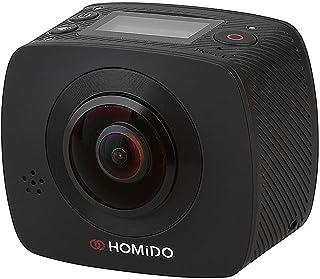 هوميدو كاميرات اكشن 1080P وضوح ,تكبير البصري غير متاح وشاشة 1.3 انش -HOMICAM1
