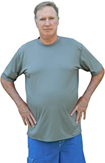 cbf81d52ac8fe Plus Size Rash Guard Swim Shirt - UV Sun Protection - Chlorine Proof