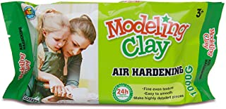 Artoys Air Hardening Modeling Clay,Air dry clay,White 1KG,Sculpting,Moulding,Preshool toys,Pretend play,school craft supplies