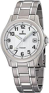 Reloj Analógico para Hombre de Cuarzo con Correa en Titanio 10832322