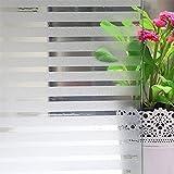 FENTIS Película estática Decorativa, Película de electrostática, Película para persina, Película Adhesiva para Oficina, hogar, No Pegamento, Resistente al Calor y UV, Fácil de Quitar
