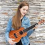 Immagine 1 winzz concert ukulele mahogany satin