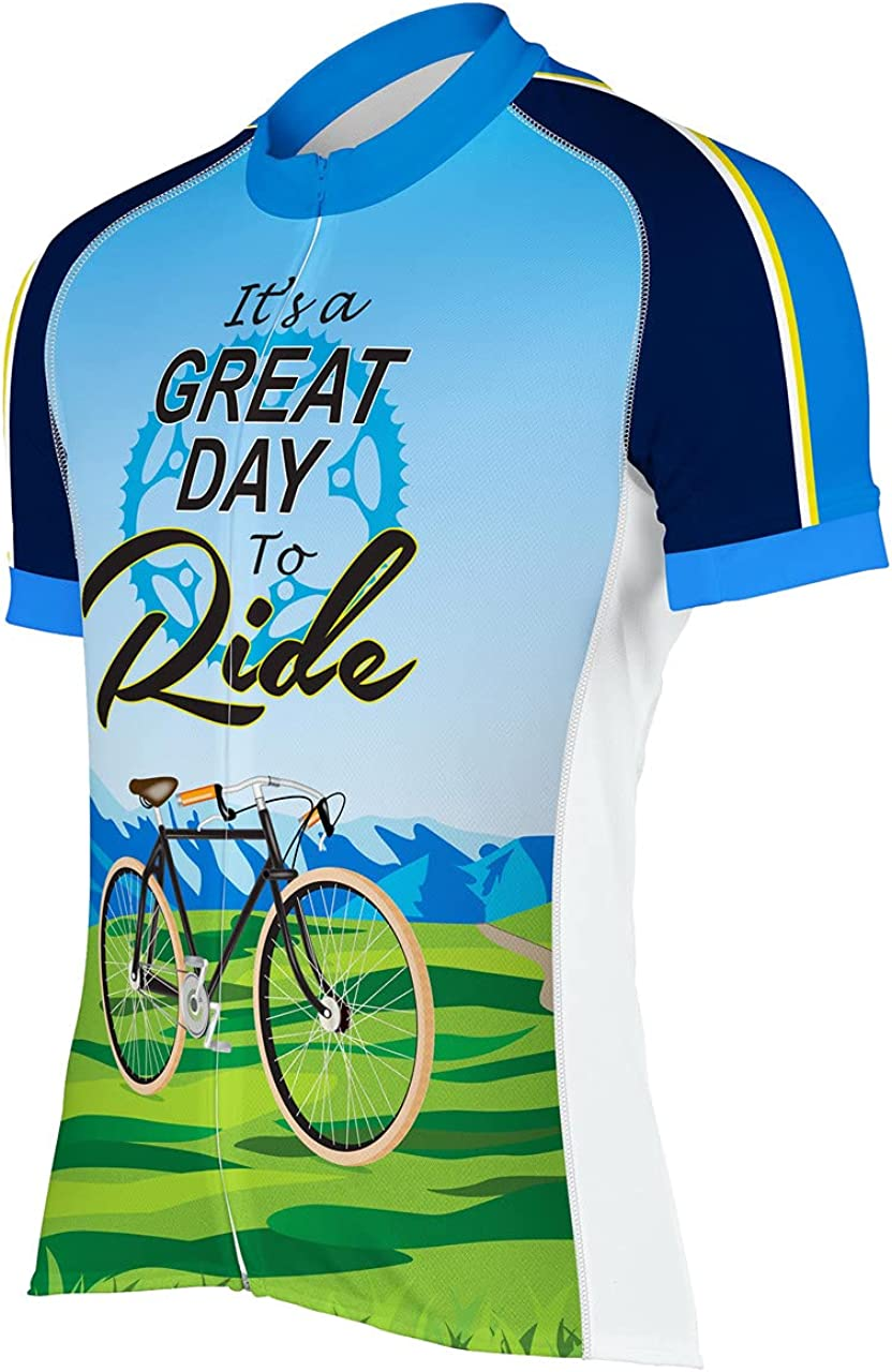 It's A Great Day to Cycling Men's Outlet sale feature Jersey Large special price !! Ride