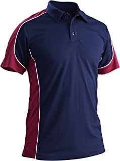 MAGCOMSEN Men's Polo Shirts Summer Outdoor Casual Short Sleeves T-Shirt Quick Dry Golf Polo Shirt
