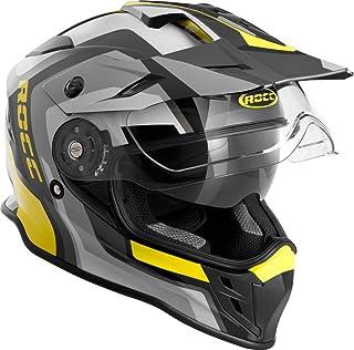 Rocc 781 Motocross Helm M Schwarz/Gelb