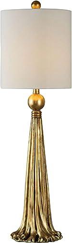 discount Uttermost Paravani Antique Metallic Gold popular Buffet sale Table Lamp online sale