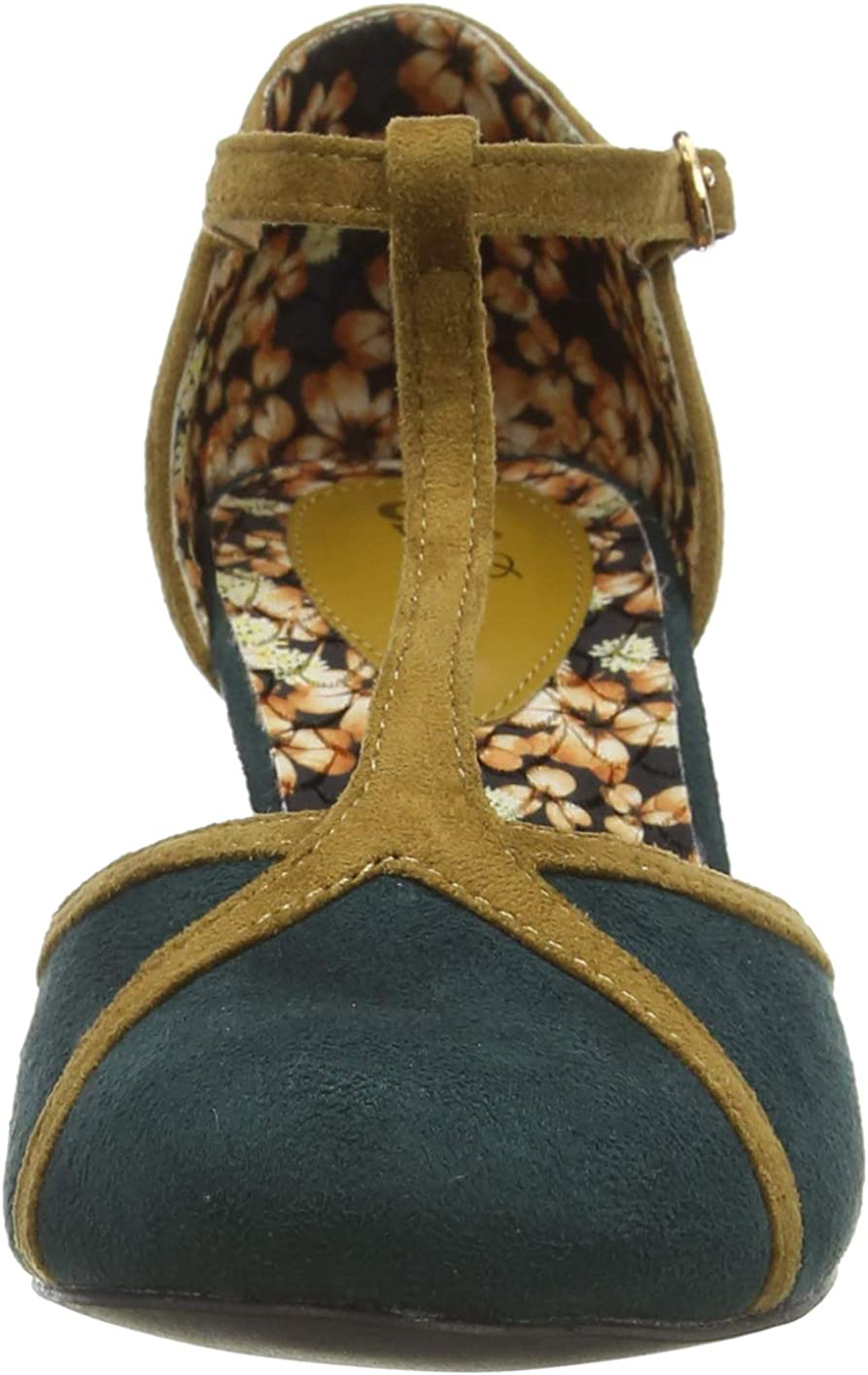 Joe Browns Bees Knees T-Bar Shoes Scarpa Mary Jane Donna