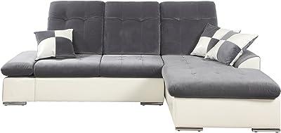 Amazon Com Divano Roma Furniture Classic Large Faux Leather And