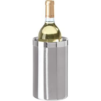 Amazon Com Modern Innovations Wine Chiller Elegant Grey Marble Wine Bottle Cooler Keeps Wine And Champagne Cold With Multipurpose Use As Kitchen Utensil Holder And Flower Vase Grey Kitchen Dining
