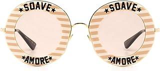 Gucci GG0113S009 Lunettes de soleil en acétate Beige