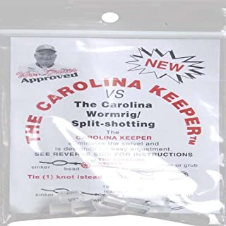 Carolina Keeper CKCC Fishing Tackle, 8-Pack, Clear Finish
