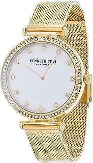 ساعة كينيث كول للنساء KC50927003 كوارتز ذهبية