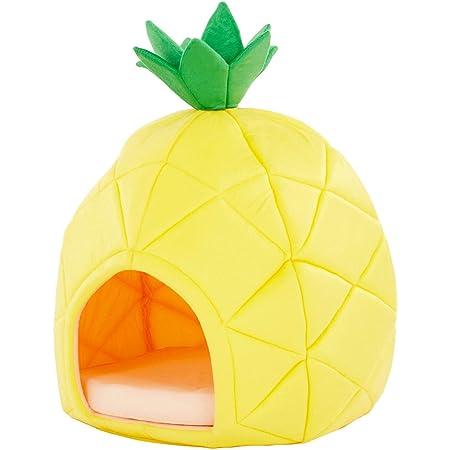 YML Pineapple Pet Bed House, Medium, Yellow