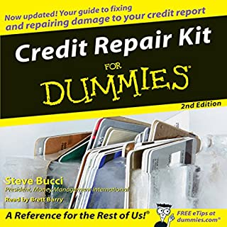 Credit Repair Kit for Dummies cover art