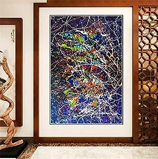 Tableau Decoration Murale Jackson Pollock《Forme libre》Tableaux, Posters Et Arts Décoratifs Poster Impression Sur Toile Aff...