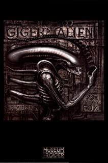 Giger's Alien Poster by H. R. Giger 24 x 36in - coolthings.us