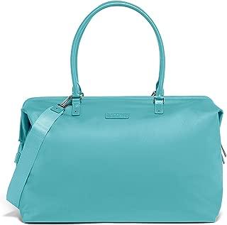 Lipault - Lady Plume Weekend Bag - Top Handle Shoulder Overnight Travel Duffel Luggage for Women - Coastal Blue