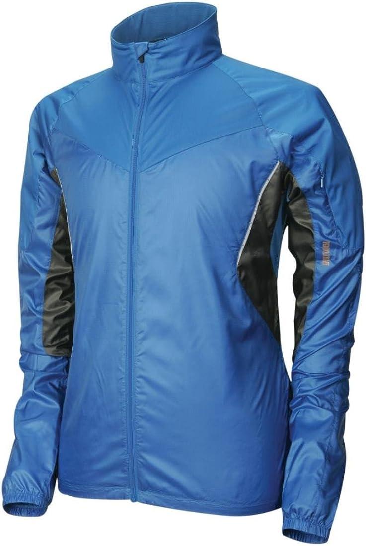 PEARL IZUMI Men's Fly Jacket,Water Blue/Shadow Grey,Small